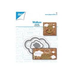 Fustella Nuvole Joy!Crafts 6002-1608 Clouds - Nuvolette