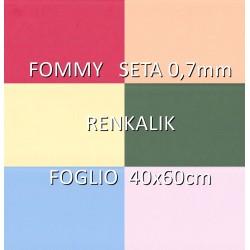 FOMMY SETA Renkalik - Gomma Crepla Setata Delicatissima - Foglio 40x60cm