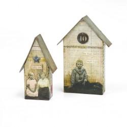 Fustella Casetta Sizzix Bigz L Die - Tiny Houses 661819