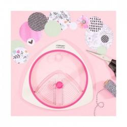 Taglierino Circolare con 3 lame incluse - Cerchi da 2,5 a 15 cm
