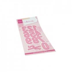 Fustella Numeri XL - Marianne Design Collectables - COL1485