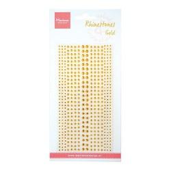 Mezze Perle Adesive Oro Strass Marianne Design