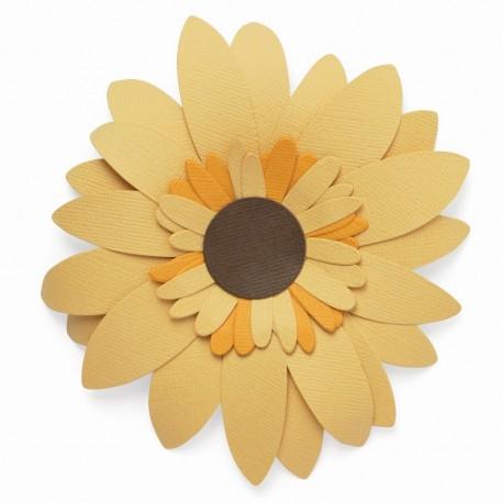 Fustella Girasole - Sizzix Bigz Die - Sunflower 665191