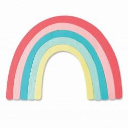 Fustella Arcobaleno - Sizzix Bigz Die - Rainbow 665197