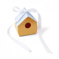 Fustella Casetta Uccellini Sizzix • Bigz die Birdhouse 665194