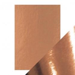 Cartoncino Specchio Metallico Rosa Platino - 5 pezzi formato A4 250g