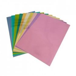 Cartoncino Specchio Vari Colori - 10 pezzi formato A4 230g Joy!Crafts