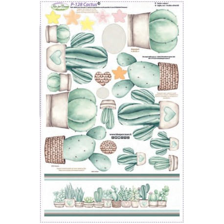 Pannello Cactus - Idee per Creare - P-128