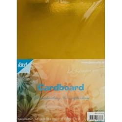 Cartoncino Specchio Oro - 10 pezzi formato A4 230g Joy!Crafts