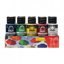 Set 10 Colori Acrilici FOLK Art Colori Base 3028-7508
