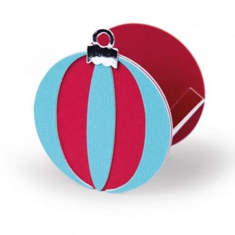 Fustella Scatola Natale Sizzix • Score boards L die box Ornament 665327