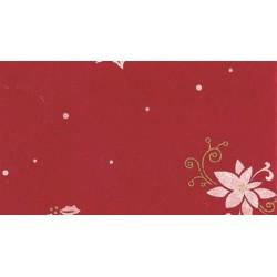 Pannolenci Poinsettia Tramato Rosso Natale - 30x40cm 1mm