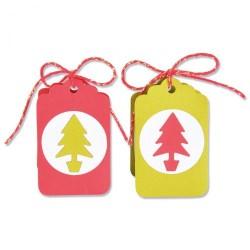 Fustella Confezione Regalo Sizzix • Bigz die Box, Gift Tag 665346