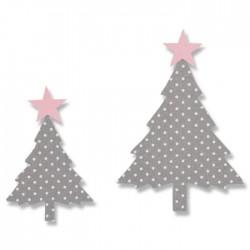 Fustella Abeti - Sizzix • Bigz die Fir tree 662585 Alberi di Natale