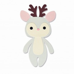 Fustella Renna - Sizzix Bigz Die - Christmas character 665347