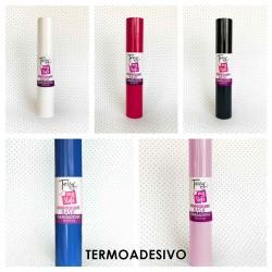 Termoadesivo Monocolore - Vinile Termico Adesivo - Foglio 30,5x50cm - TESSY
