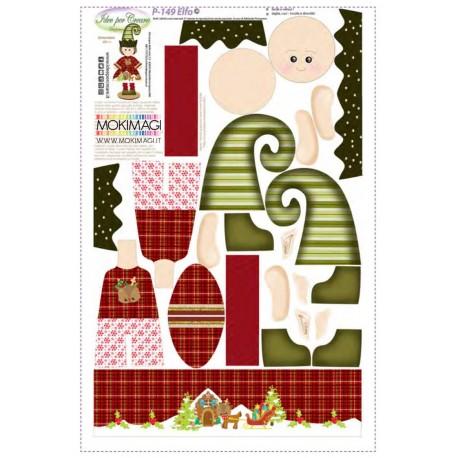 Pannello Elfo - Idee per Creare - P-149 Pannello Elfo di Natale