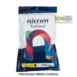 Porcellana Fredda Nicron - Pasta modellabile Bianca 500g.