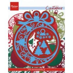 Fustella CHRISTMAS ORNAMENT LR0560 Marianne Design Creatables Fustella Natale