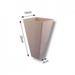 Vaso in Legno - Vaso Conico 25cm