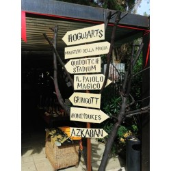 "Cartelli Indicazioni stile ""Harry Potter"""